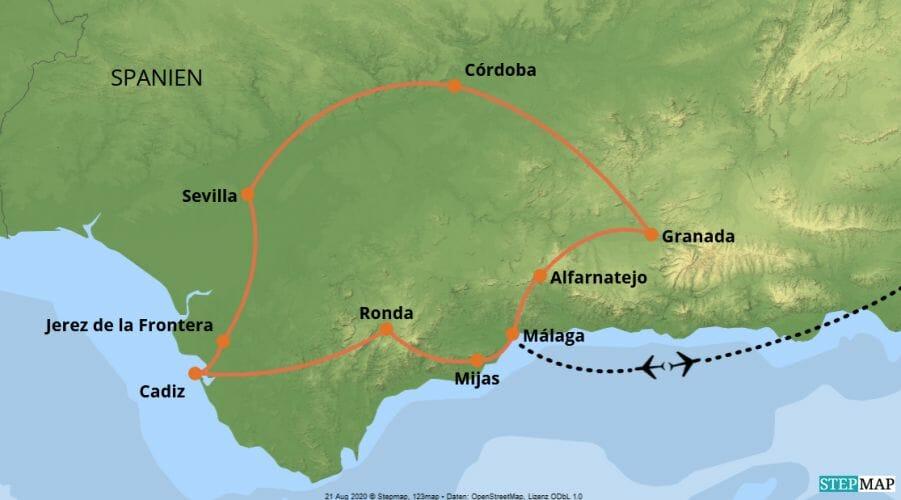 Vögele Andalusien