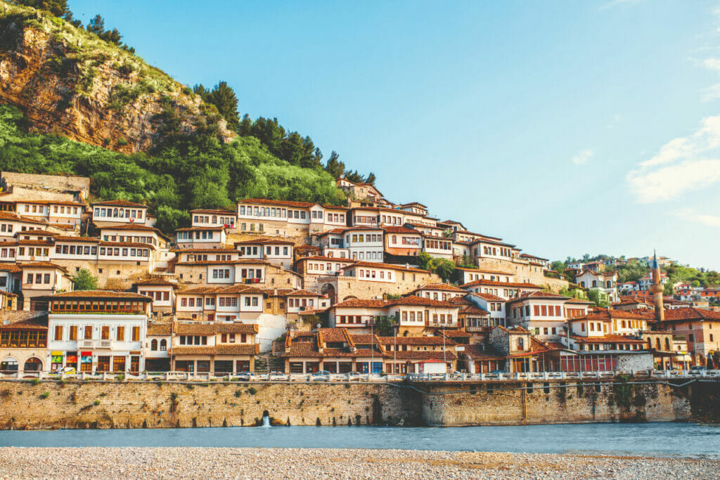Berat Stadt Albanien