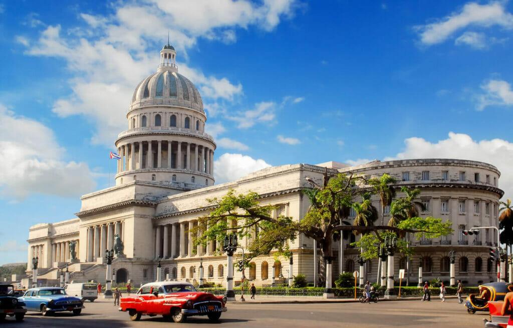 Kapitol Havanna Kuba