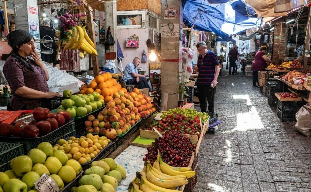 Markt in Tiflis Georgien
