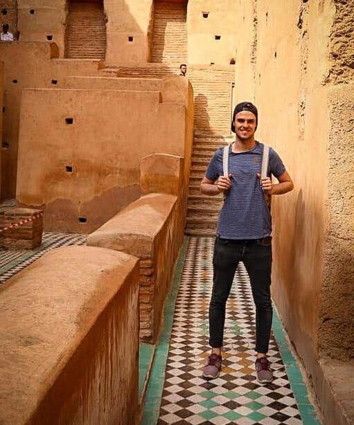 Santino Fischli Vögele Reisen El Badi Palast Marrakesch