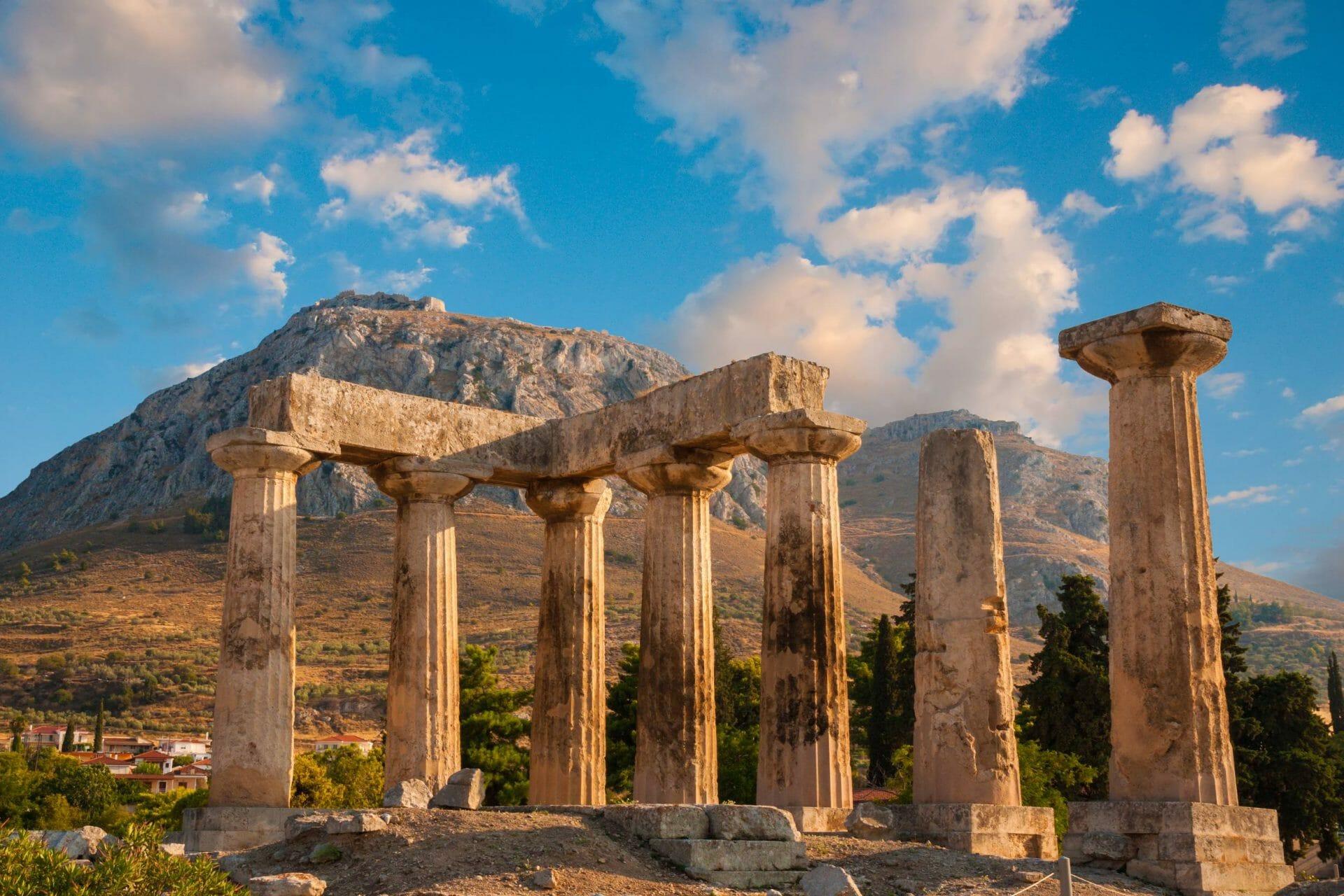 Korinth Peloponnes Griechenland