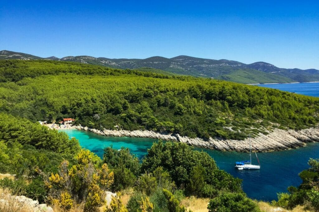 Küste in Kroatien