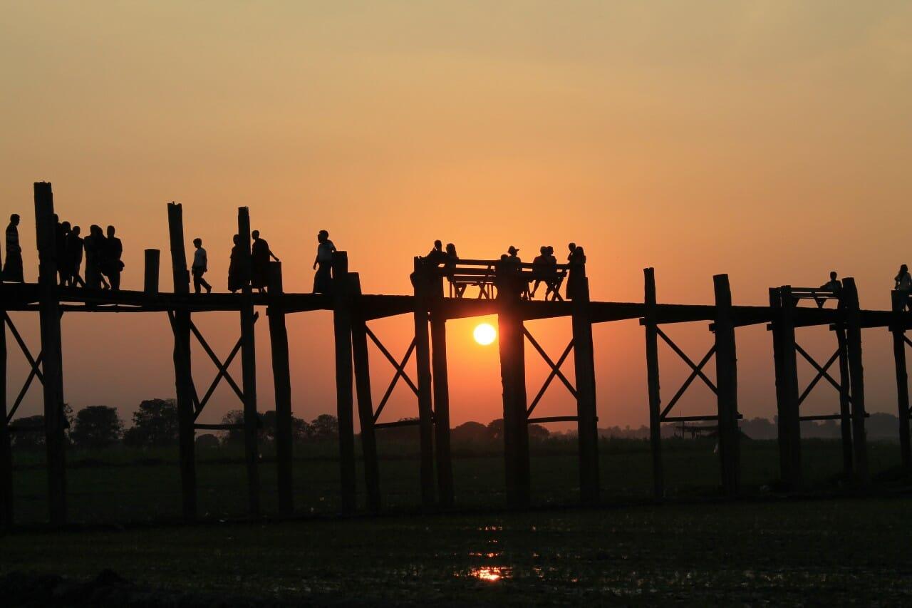 U-Bein Brücke Myanmar