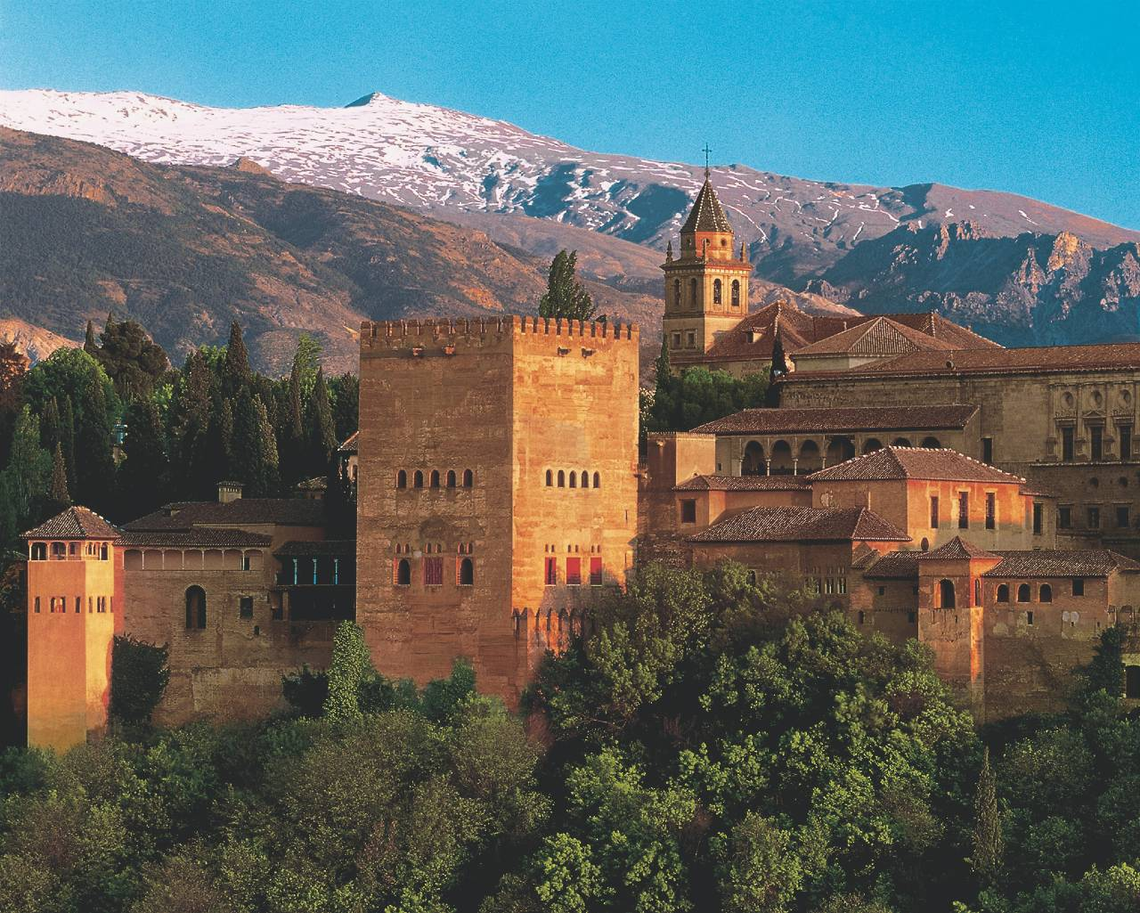 Alhambra Andalusien Spanien
