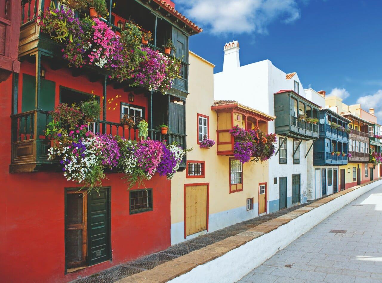 Altstadt Santa Cruz La Palma Spanien