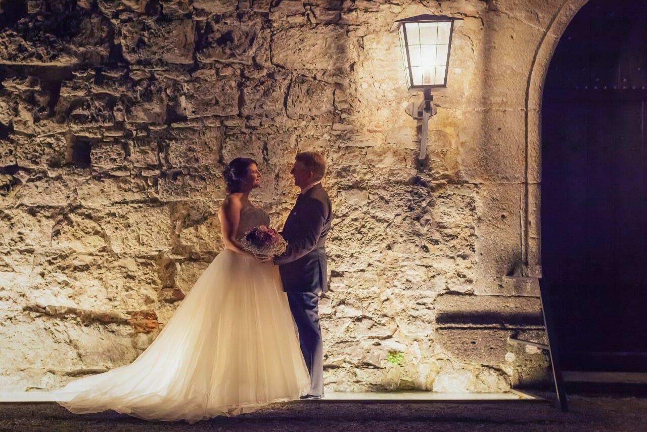 Valtentinsgeschichte Hochzeitsfoto